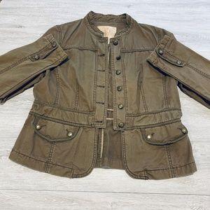 BKE Brown Military Style Brown Jacket